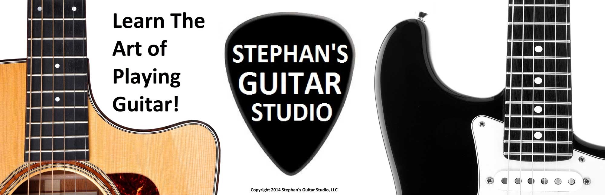Live Online Guitar Lessons | Stephan's Guitar Studio, LLC